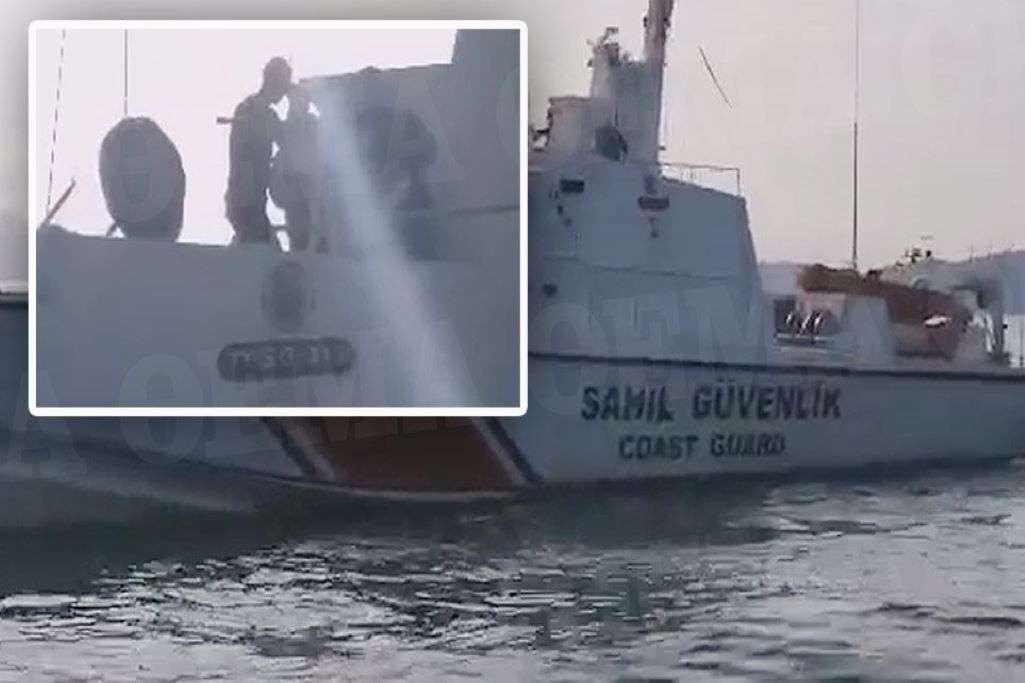 Ίμια: Τούρκοι παραβιάζουν τα ελληνικά ύδατα και παρενοχλούν τους ψαράδες (βίντεο)