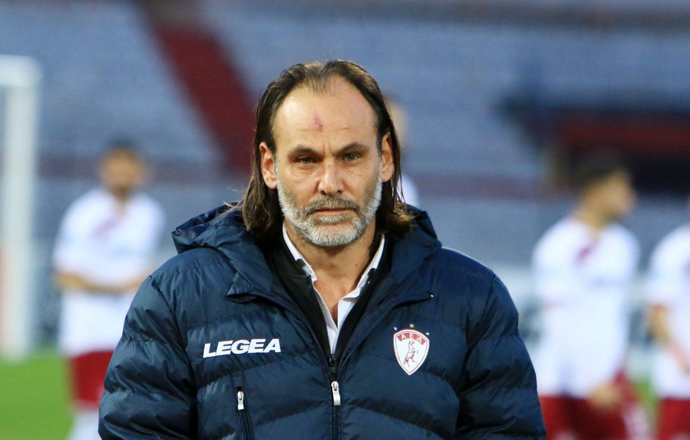 Τέλος και επίσημα ο Τάτσης, ψάχνει προπονητή η Λάρισα