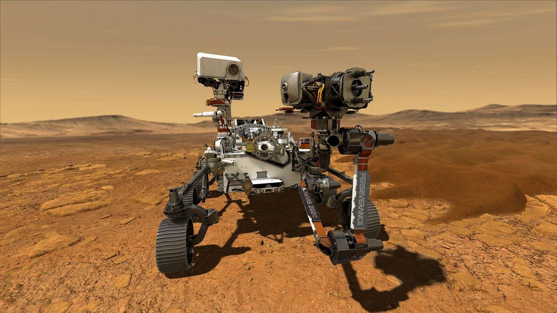 "NASA: Το ""Perseverance"" πατάει στον Άρη- Live εικονα"