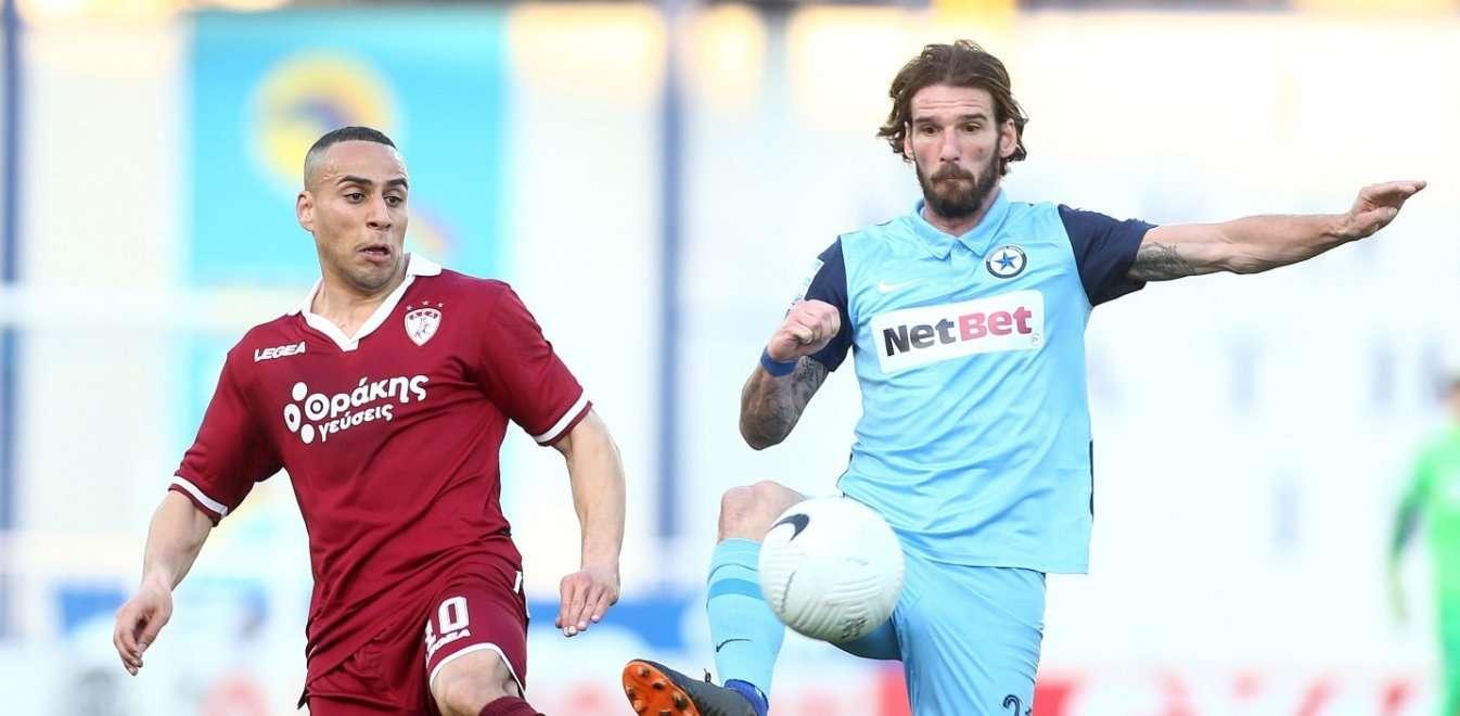 Η Λάρισα πήρε βαθμό, αλλά μπορούσε και νίκη στο Περιστέρι (1-1)