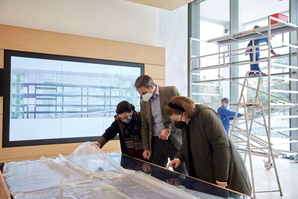 Επίσκεψη του Κυρ. Μητσοτάκη στην Εθνική Πινακοθήκη