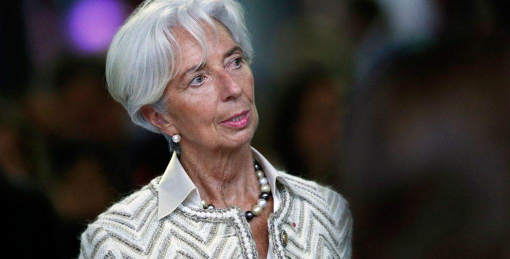Λαγκάρντ: Η ευρωπαϊκή οικονομία στηρίζεται σε δύο πατερίτσες