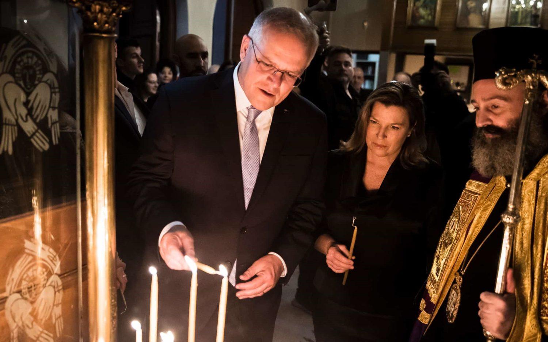 Για πρώτη φορά Αυστραλός Πρωθυπουργός κάνει Ανάσταση με τους Έλληνες ομογενείς