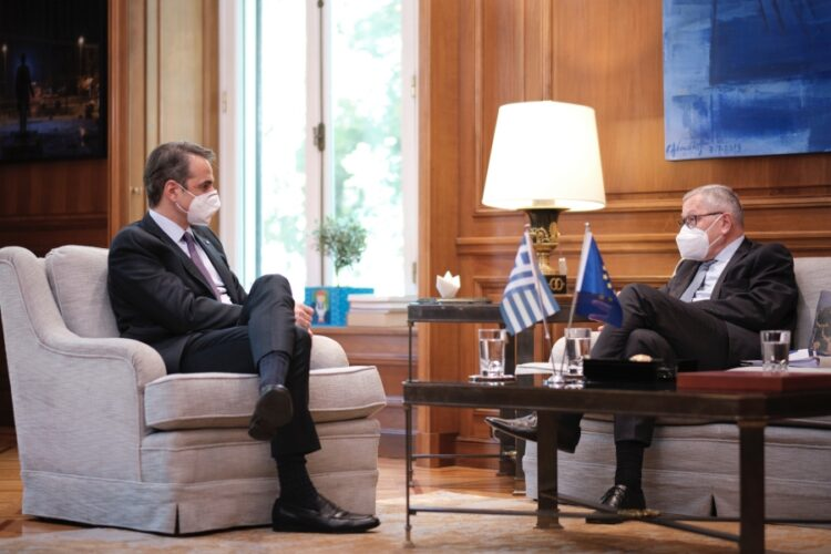 Ρέγκλινγκ στη συνάντηση με Μητσοτάκη: Καλό το ελληνικό σχέδιο, το θέμα είναι η υλοποίηση