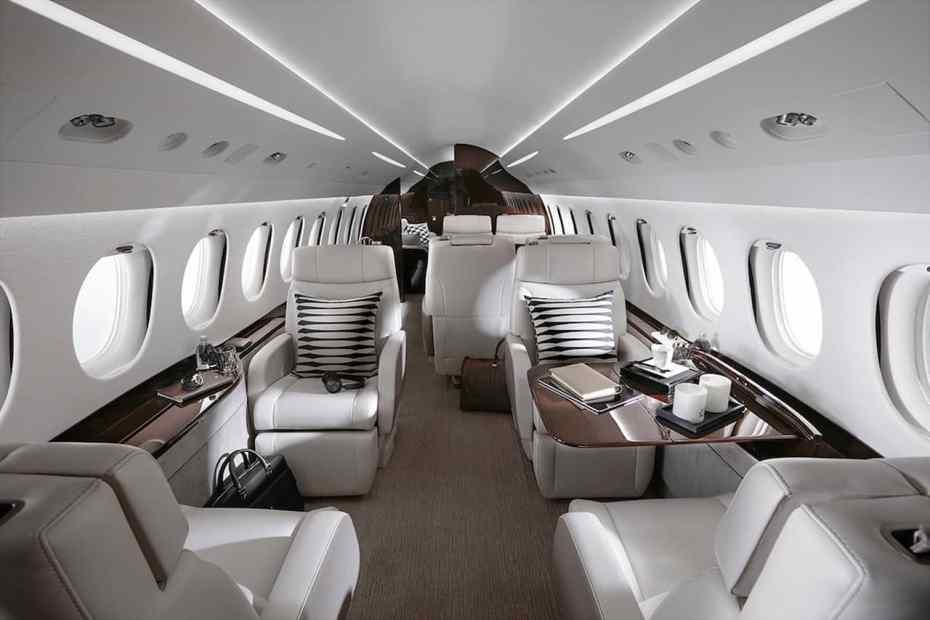 7 πολυτελή αεροσκάφη για να ταξιδέψεις σαν βασιλιάς