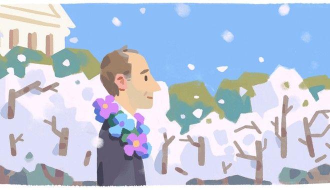 Frank Kameny: Google doodle για τον αστρονόμο που απολύθηκε επειδή ήταν γκέι