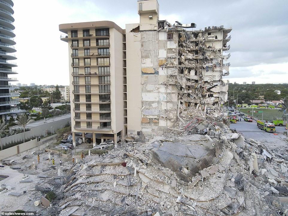Βίντεο από την στιγμή που καταρρέει η πολυκατοικία στο Μαϊάμι - Το χρονικό