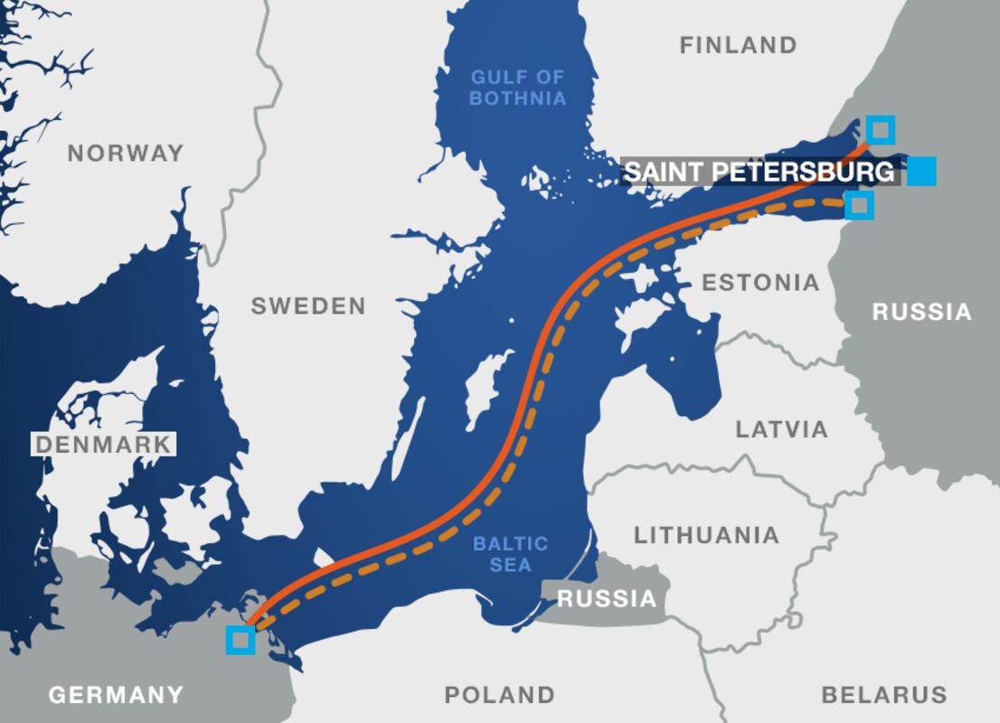 Gazprom: Ο ρωσογερμανικός αγωγός Nord Stream 2 «ολοκληρώθηκε πλήρως»