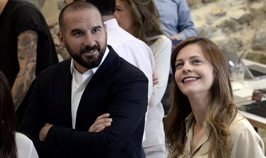 Έφη Αχτσιόγλου - Δημήτρης Τζανακόπουλος: Για πρώτη φορά γονείς!