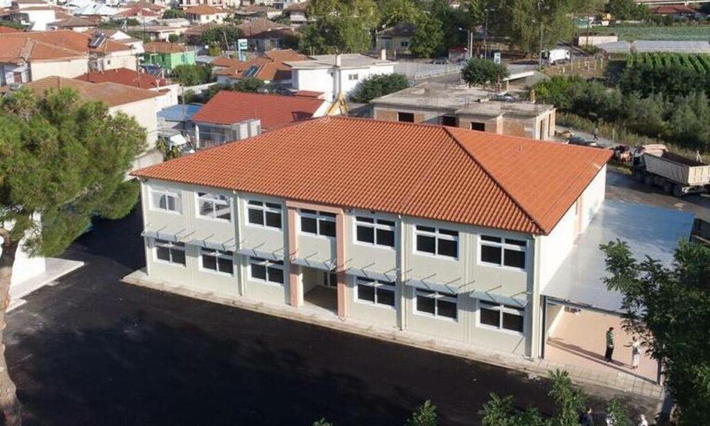 ΓΕΚ ΤΕΡΝΑ: Έτοιμο σε χρόνο ρεκόρ το σχολείο στο Δαμάσι - Προσφορά άνω των 1,2 εκατ. ευρώ
