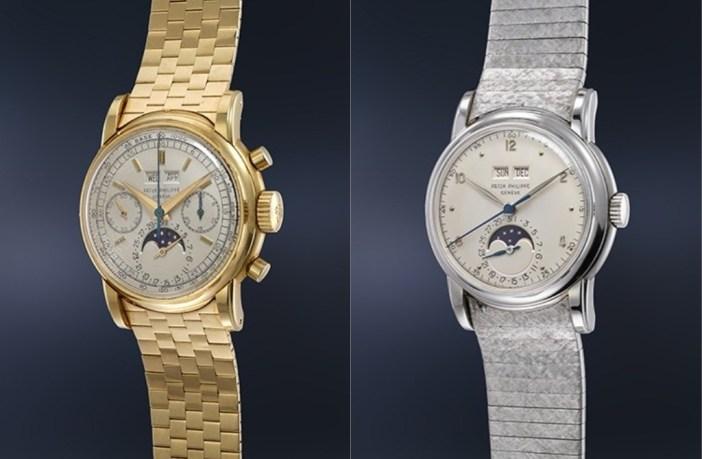 Δύο σπάνια ρολόγια που πρόκειται να πουληθούν για 6 εκατ. δολάρια!